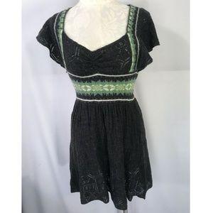 Free People S Open Knit Dress Nordic Pointelle